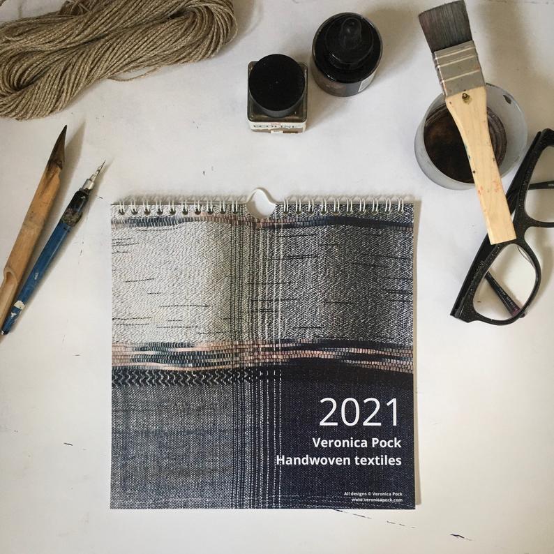 Fibreart calendar 2021