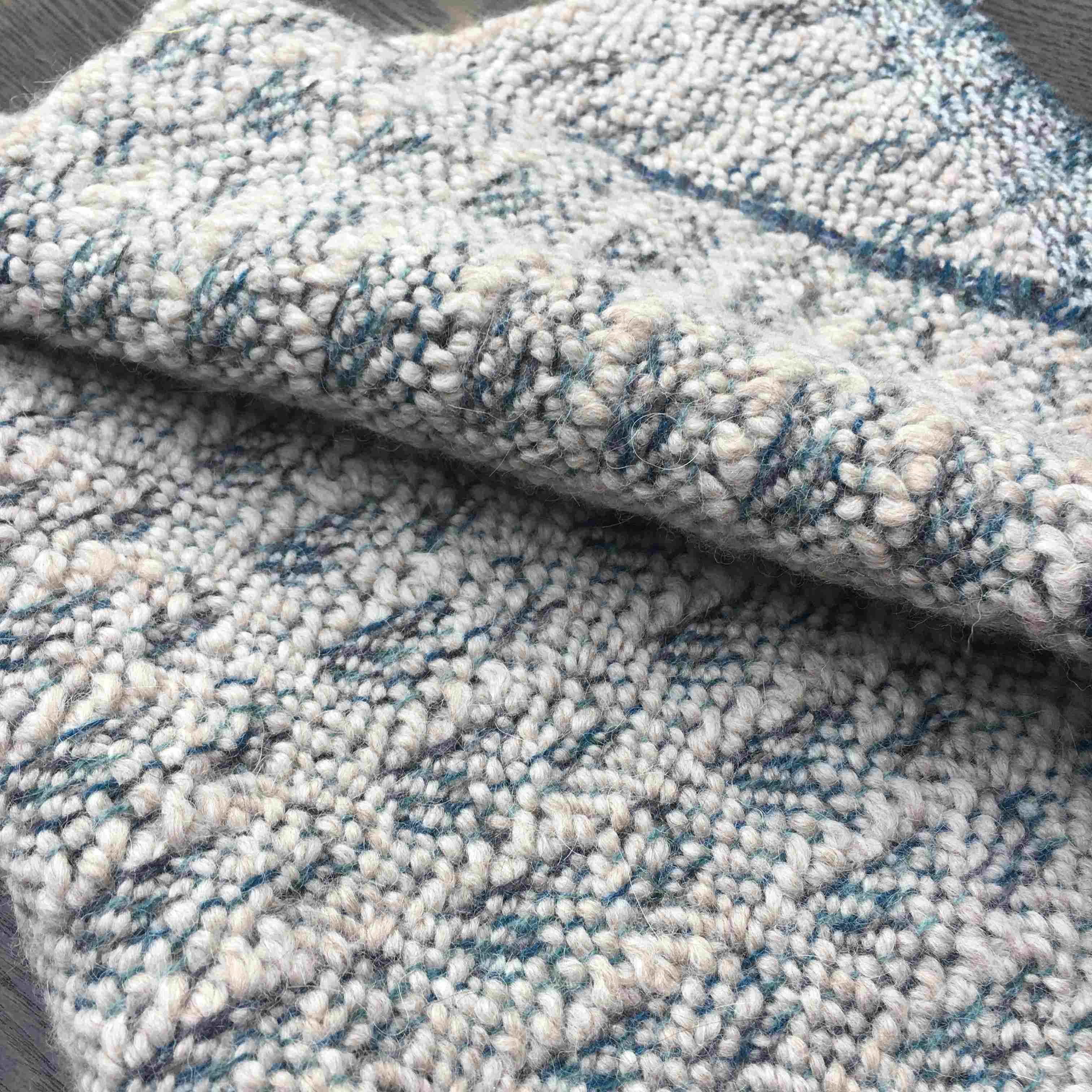 Handwoven cushion fabric