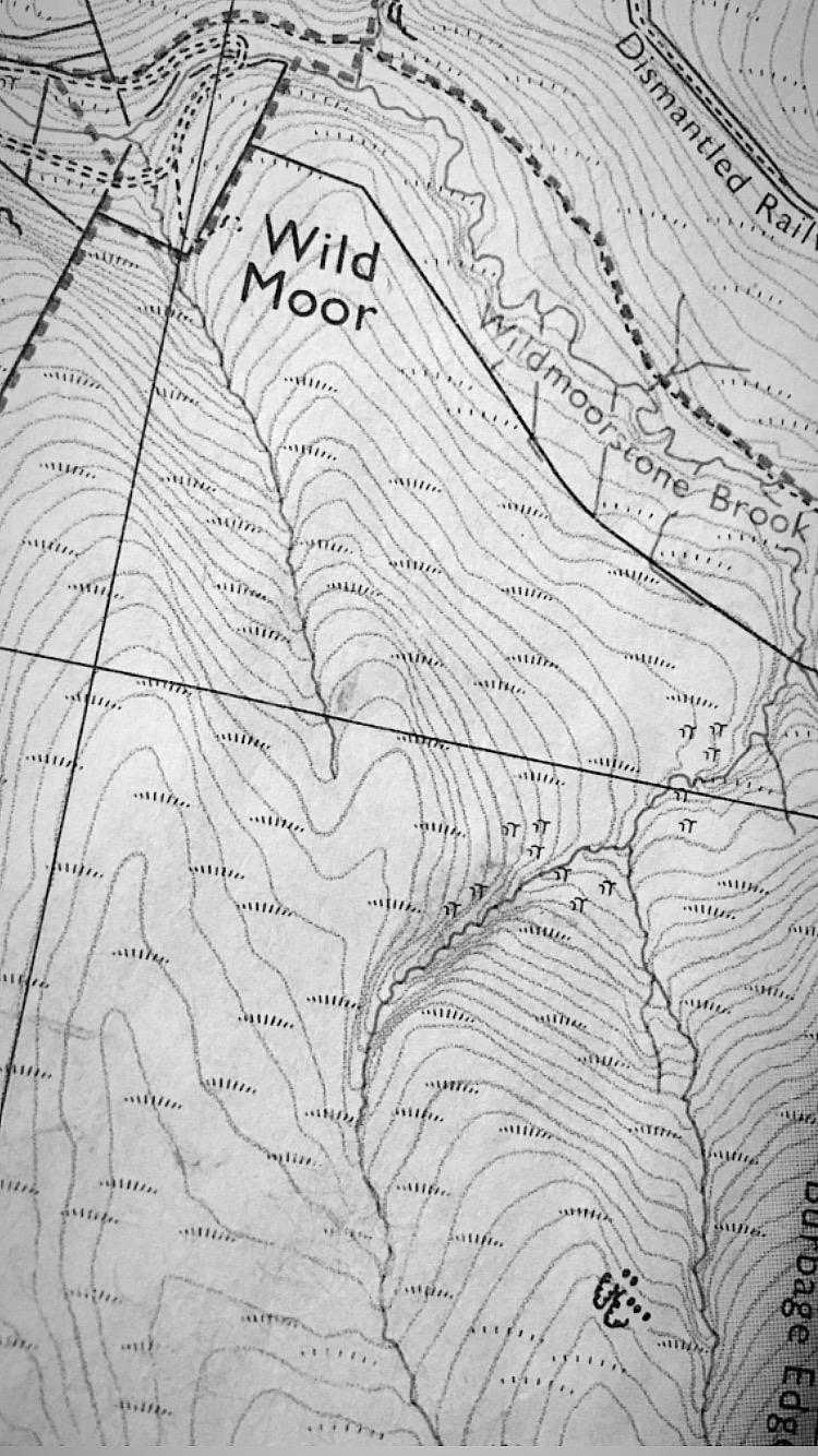 Map as material