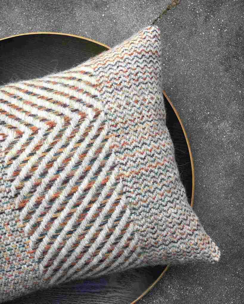 Handwoven cushion detail