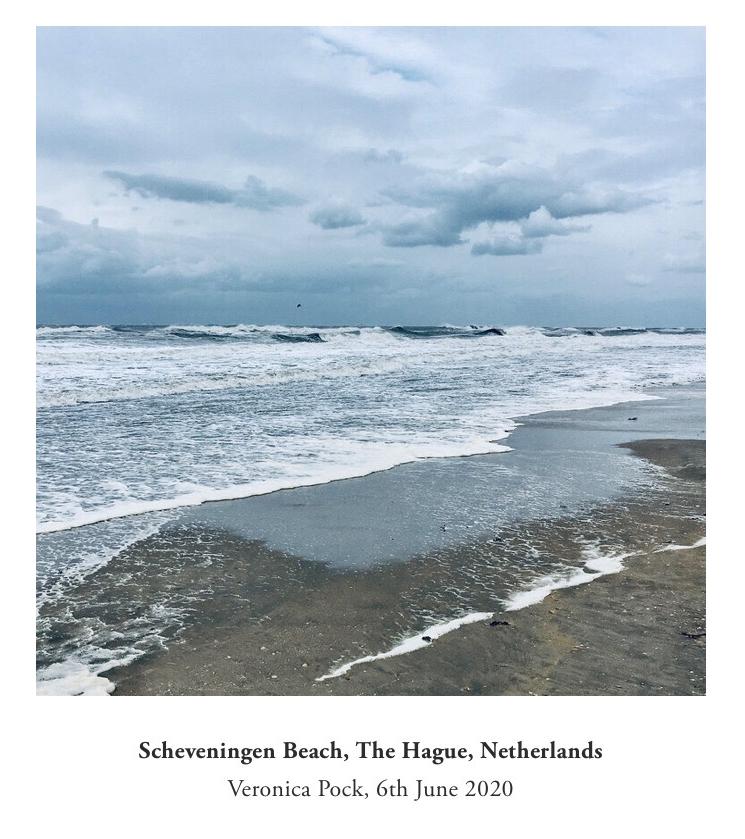 The sea from here Scheveningen beach