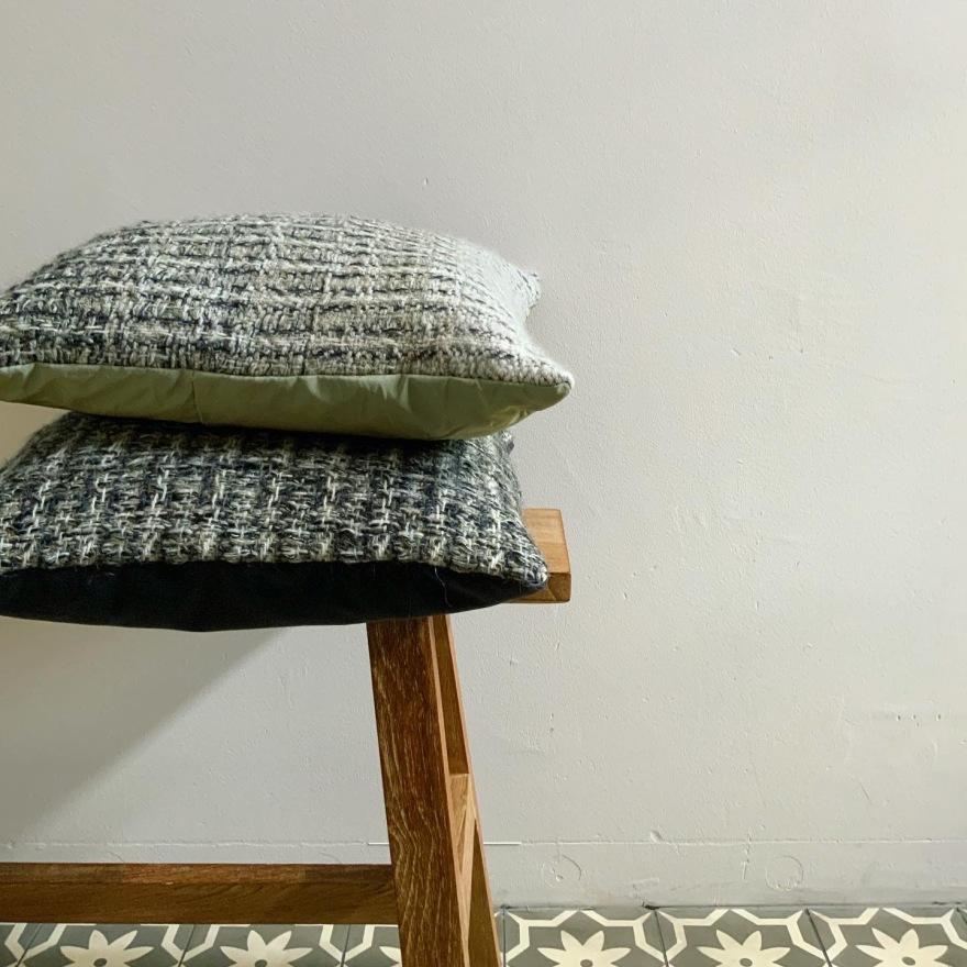 Cushions handwoven wool