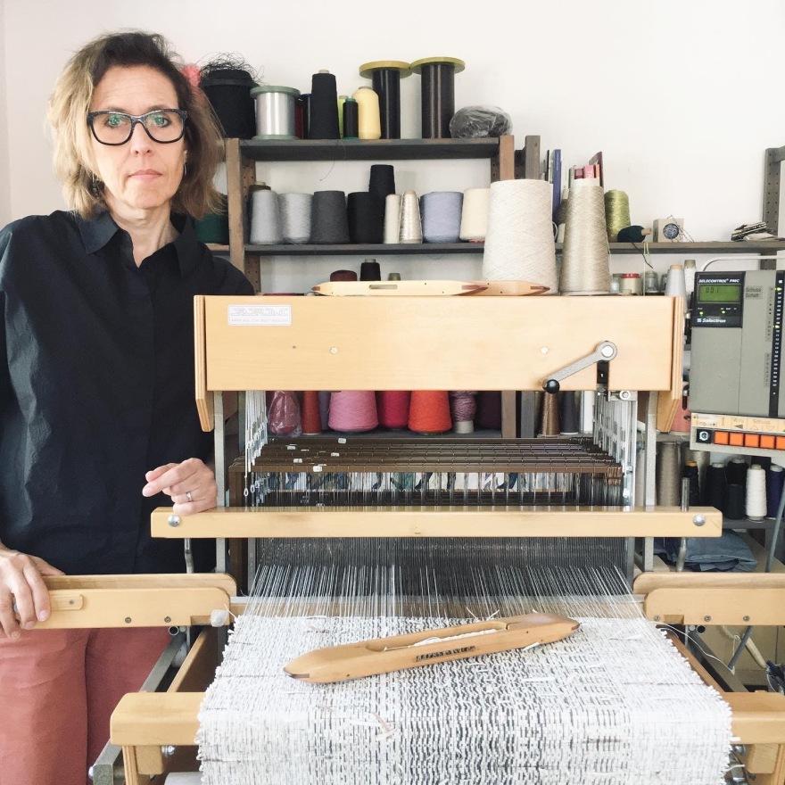 Veronica Pock in studio