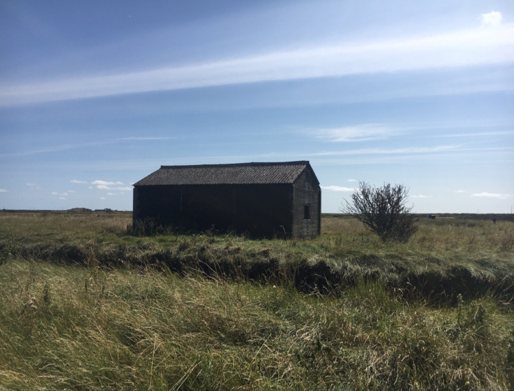 Orford Ness black shed
