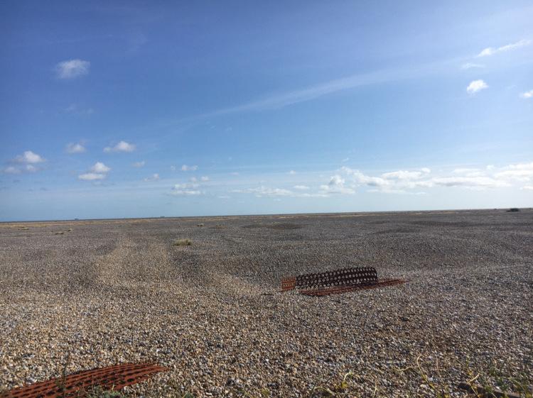 Orford Ness shingle beach