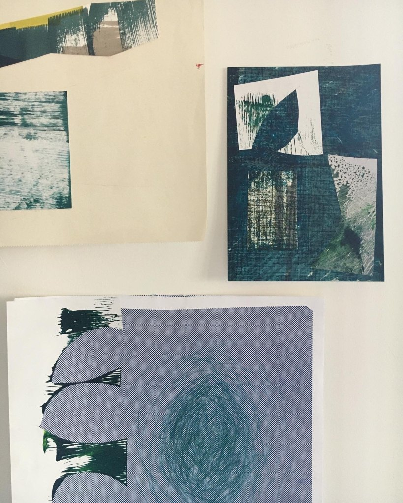 Sketches using papers